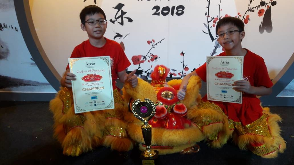 Atria Kids Lion Dance Competition